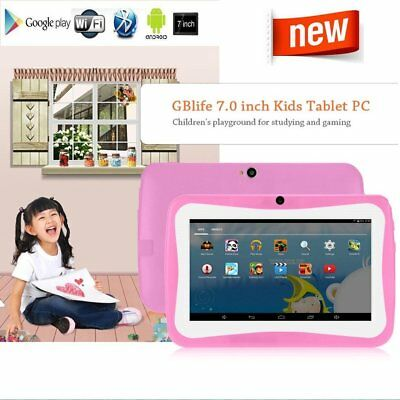 """7"""" KIDS ANDROID 4.4 TABLET PC QUAD CORE WIFI CHILD CHILDREN & 12"""" Writing Board"""