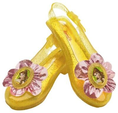 Disney Princess Shoes Cute Fancy Dress Up Halloween Child Costume Accessory