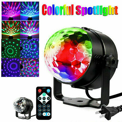 Disco Party LED Stage Light Strobe Ball Bulb Dance DJ KTV Sound Activated Lamp
