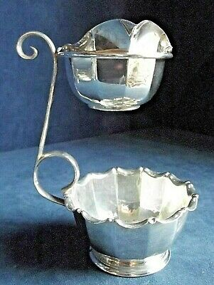 SUPERB ~ SILVER Plated ~ ART DECO ~ JUG & BOWL ~ c1930 by James Dixon