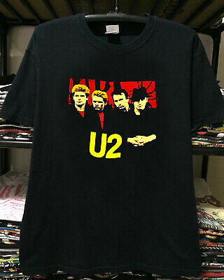 vtg '80s 1983 U2 under a blood red sky - top reprint -limmited edition USAsz