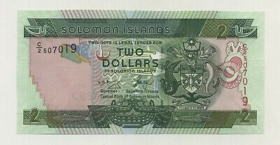 Low S//Ns Pick New Hybrid Polymer 2015 A//1 ND Solomon Islands UNC $100