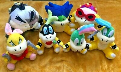 """Super Mario Soft Plush Toy - Your Choice of Koopa Kids or Full Set Koopalings 8"""""""