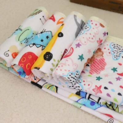 Baby Stroller Pram Waterproof Pushchair Cushion Pad Thick Print Mat W