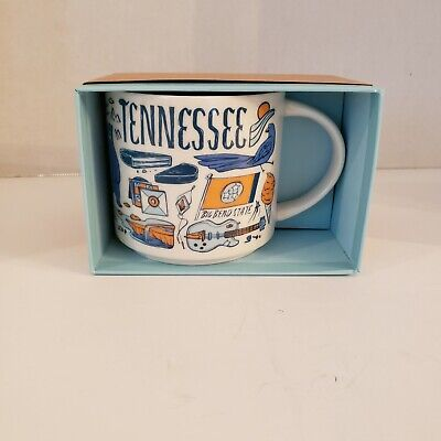 "Starbucks 14oz Mug ""Been There Series"" Across The Globe Collection Tennessee NIB"