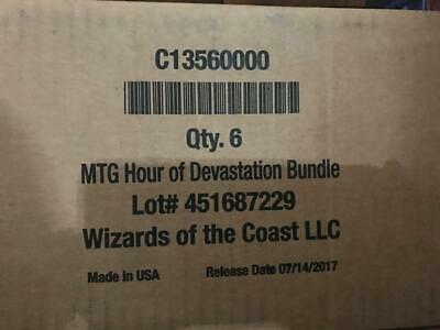 Hour of Devastation Magic the Gathering MTG Bundle Sealed Case