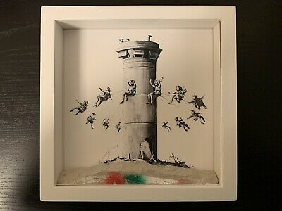 Banksy Pared De Hotel Box Set Vidrio De Museo