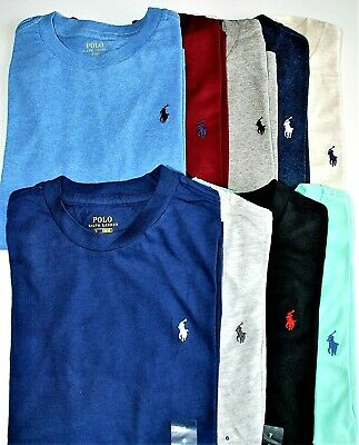 Boys Genuine Ralph Lauren Short Sleeve Cotton T-Shirts - 2 years to 18-20years