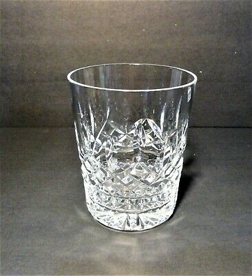 Waterford Crystal Lismore Double Old Fashioned Flat Bottom Glass