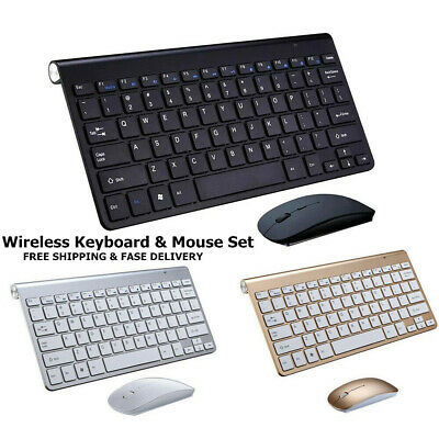 Universal Slim Wireless Bluetooth Keyboard for iMac iPad Android Phone Tablet PC