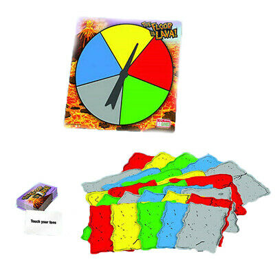 The Floor is Lava! Interactive Board Game for Kids and Adults (Ages 5+) Fun HOT!