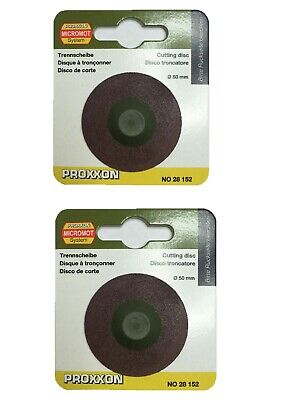 Proxxon replacement cutting disc 28152 for cut of saw KG 50 / RDGTools x 2 Discs