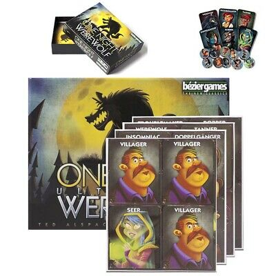 One Night Ultimate Werewolf - Board Game & Sealed Gifts Toys Brand New!