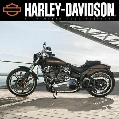 Trends International, 2020 Calendars Harley Davidson Wall Calendar - FSC Certifi