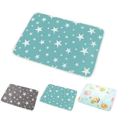 Waterproof Baby Changing Mat Home Travel Diaper Nappy Change Pad Portable UK