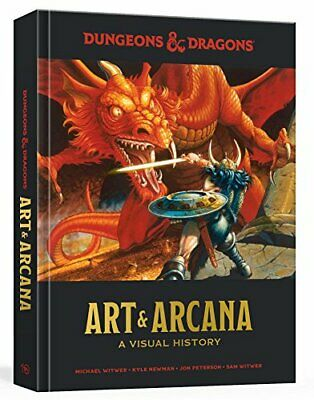 Dungeons and Dragons Art and Arcana: A Visual History by Newman, Peterson New..