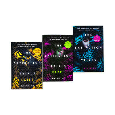 The Extinction Trials Series S.M. Wilson Collection 3 Books NEW Set Young Adult