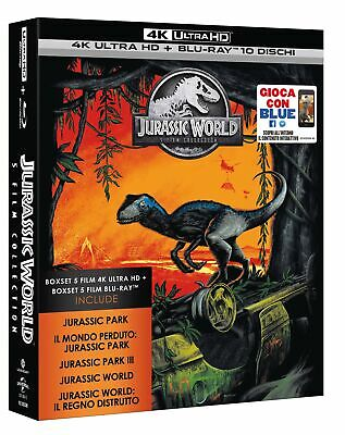 Jurassic 5 Movie Super Collection  5 4K Uhd+Blu-Ray