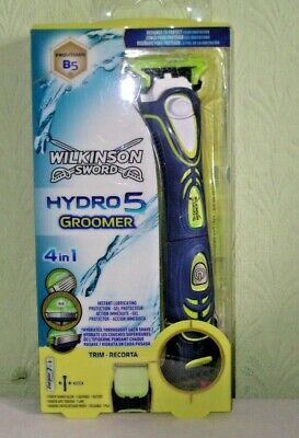"WILKINSON SWORD "" HYDRO 5 GROOMER 4 in 1 - NEW / GENUINE / FREE POSTAGE"