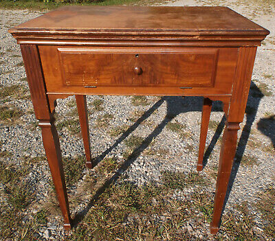 Vintage 1946 Singer Sewing Machine Cabinet/Stand Walnut Fits 15 Others
