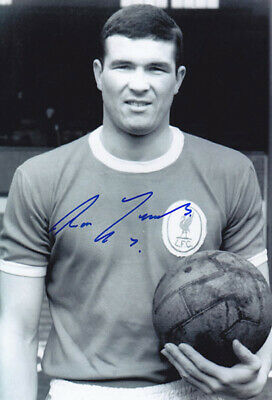 LIV 087 : HAND SIGNED 12x8 PHOTO LIVERPOOL 1963 RON YEATS
