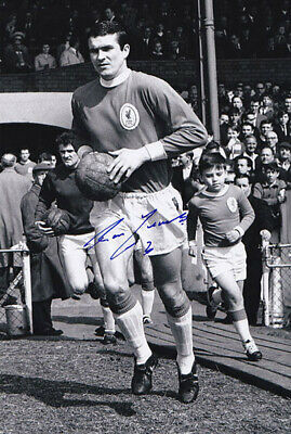 LIV 105 : HAND SIGNED 12x8 PHOTO LIVERPOOL 1965 RON YEATS