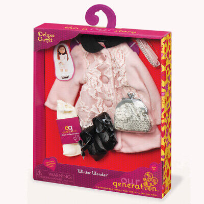 Our Generation Winter Wonder Deluxe Doll's Outfit - 70.30142AZ