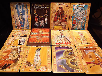 Sealed Brand New! Native American Oracle Cards & Book For Clarity/Understanding