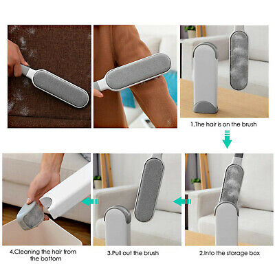 Pet Hair Remover Roller Self Cleaning Dog & Cat Hair Remover Fur Removal Roller
