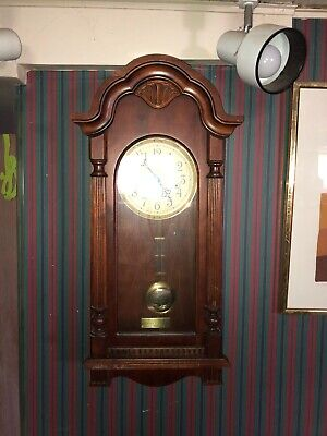 Sligh Wall Clock Franz Hermle Works 1051-030A 3 Chimes Westminster