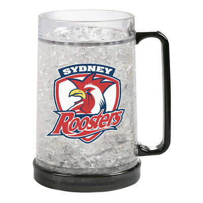 Sydney Roosters NRL Freeze Beer Stein Frosty Mug Cup