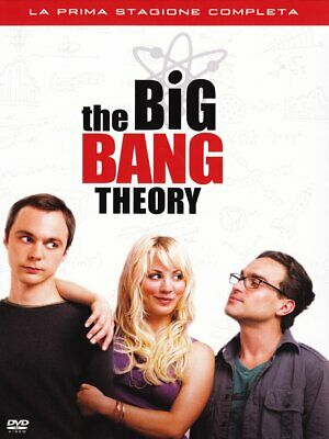 603427 535273 Dvd Big Bang Theory (The) - Stagione 01 (3 Dvd)