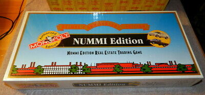1995 NUMMI MONOPOLY DELUXE ANNIVERSARY EDITION Board Game Toyota GM SEALED NIB