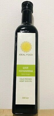 Hemp Seed Oil Ukrain/ Australian Certified Organic Cold Pressed Unrefined Rich