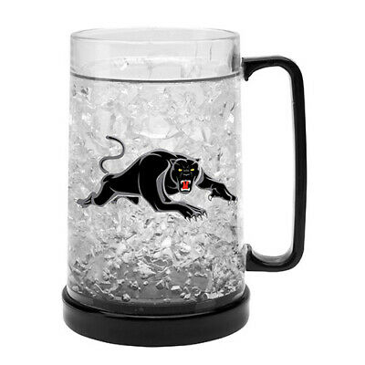 Penrith Panthers NRL Freeze Beer Stein Frosty Mug Cup Easter Gift 2020
