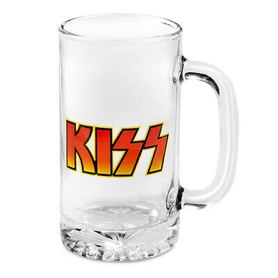 KISS Glass Drink Stein 500ml Easter Gift 2020