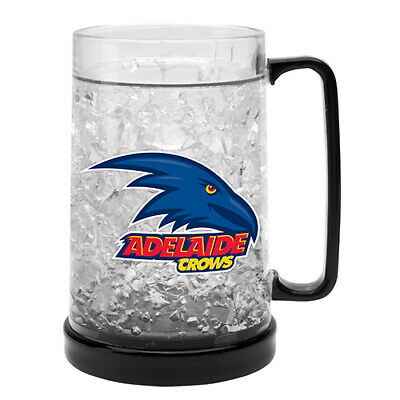 Adelaide Crows AFL Aussie Rules Ezy Freeze Beer Stein Frosty Mug Cup