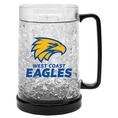 West Coast Eagles AFL Aussie Rules Freeze Beer Stein Frosty Mug Cup