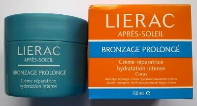 Lierac Apres-Soleil Creme Reparatrice Hydratation Intense Corps 150 Ml Neuf