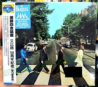 The Beatles Abbey Road 50th Anniversary Taiwan 2 CD OBI Deluxe Edition 2019 NEW