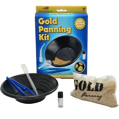 World Of Science Gold Panning Kit Mining Educational Children Learn Science Toy