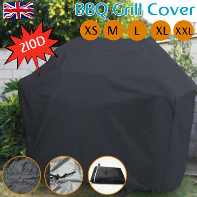 XS/M/XL BBQ Cover Heavy Duty Waterproof Rain Gas Barbeque Grill Garden Protector