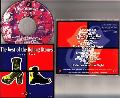 THE ROLLING STONES- Jump Back Best of 71-93 Greatest Hits JAPAN CD VJCP-25155 SC