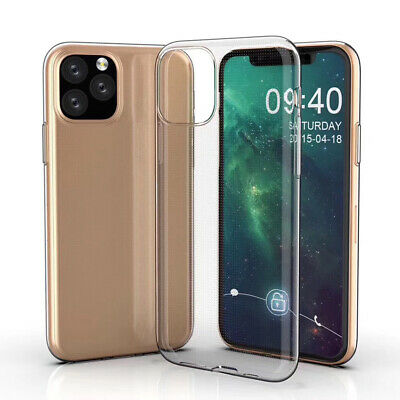 Ultra Thin Protective Sleeve Slim Clear Cover Coque Shell Soft TPU Case