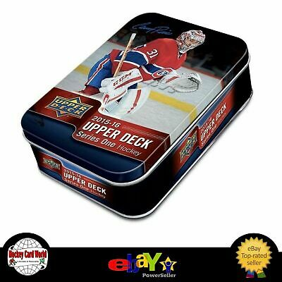 (HCW) 2015-16 Upper Deck Series 1 Tin Box - Connor McDavid, Domi Young Guns
