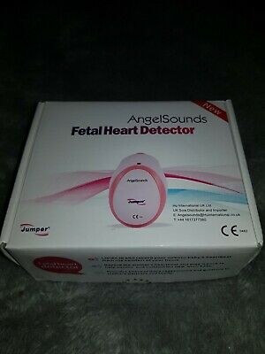 AngelSounds Fetal Doppler Prenatal  Detector Baby Heart Rate Monitor