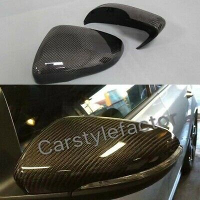 VW GOLF mk6 GTI GTD GTE R TSI CARBON FIBER WING MIRROR COVER REPLACEMENT OEM-Fit