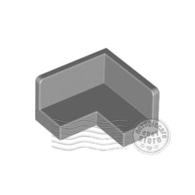 91501 Lego ® 4x Panel Coin Angle Corner 2x2x1 gris clair 6008311 6181755