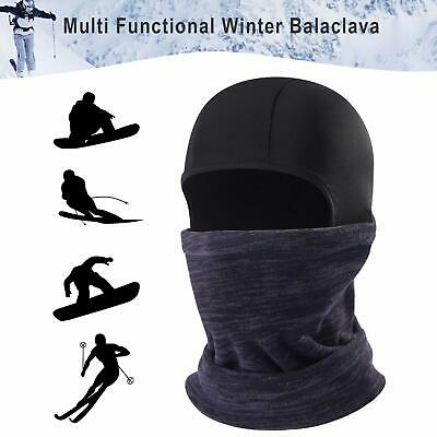 Balaclava Face Cap, Winter Fleece Neck Warm Windproof Ski for Men Women
