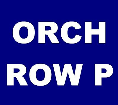 Widespread Panic tickets Atlanta The Fox Theatre 12/31 New Years **ORCH, ROW P**